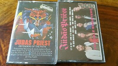 2 Judas Priest cassette - defenders of the faith + Trouble shooters