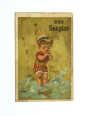 Victorian Trade Card Use Soapine