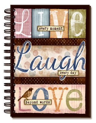 Journal-Live Laugh Love (Lined)