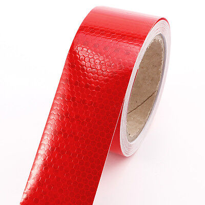 10M HOT Reflective Safety Warning Conspicuity Tape Films Stickers