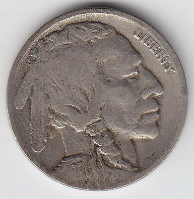 1920 United States (USA) – D – Buffalo Five Cent Nickel Coin