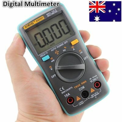 Digital Multimeter Backlight AC/DC Ammeter Voltmeter Ohm Portable Meter Hot AU
