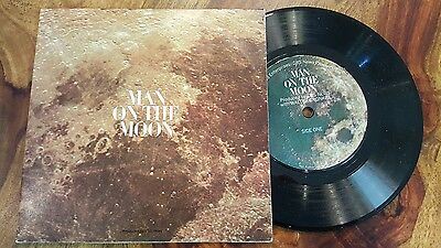 man on the moon narrated walter cronkite - cbs news (7'')(33 1/3rpm)