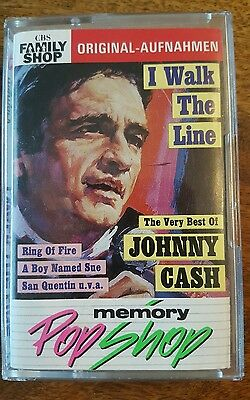 Extremely rare cassette - The very best of Johnny Cash (Germany 1990) + 2 free