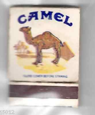 CAMEL CIGARETTES 1970's MATCHES MATCH BOX ADVERTISING SIGN VINTAGE J2