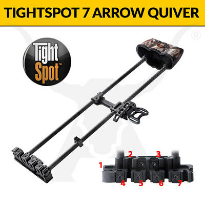 Tightspot Quivers - 7 Arrow Model - Premium Bowhunting Arrow Holder