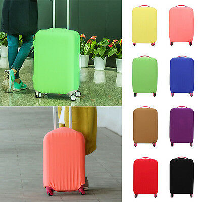 """Fashion Protective Bag Dustproof Protector 20-28"""" Elastic Luggage Suitcase Cover"""