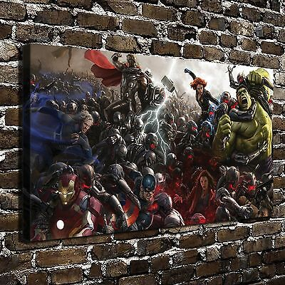 Marvel Avengers Paintings HD Print on Canvas Home Decor Wall Art Pictures Poster