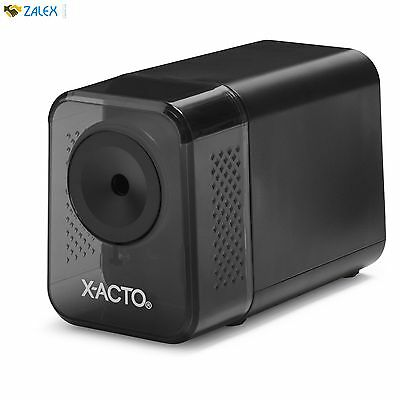 X-Acto Electric Pencil Sharpener Black School Classroom Business Office Desktop