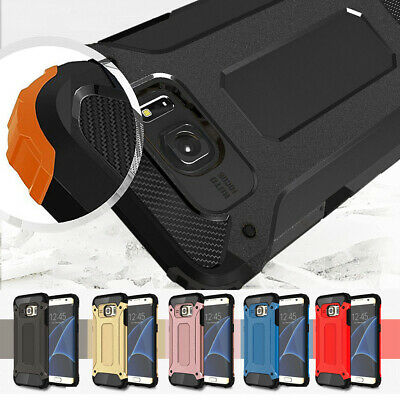 For Samsung Galaxy S10 5G/S8/S7 Edge Shockproof Rugged Hybrid Armor Case Cover