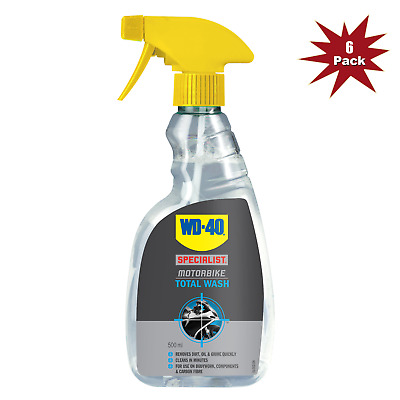 WD-40 Specialist Total Wash 500ml - 6Pk