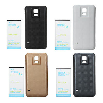 High Capacity Replacement Li-ion Battery Case Cover Charge For Samsung Galaxy S5