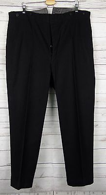 Vtg 30s / 40s Wool Fish Tail Trousers Rear Cinch W42 L27 DJ27