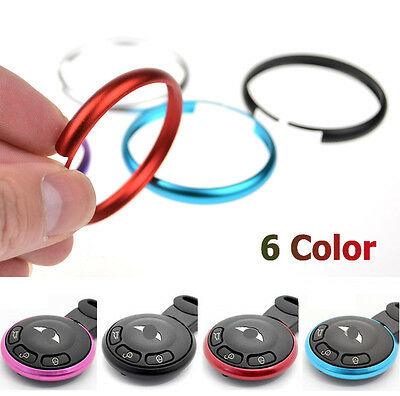 1Pc Key Fob Case Replacement Ring For 08-13 Mini Cooper R55 R56 R57 R58 R59 R60