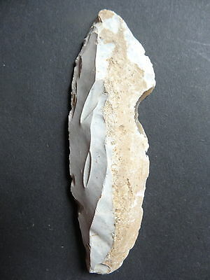 "▇ BLADE /KNIFE FLINT""Paris Basin""  MESOLITHIC / NEOLITHIC / FRENCH PREHISTORY"