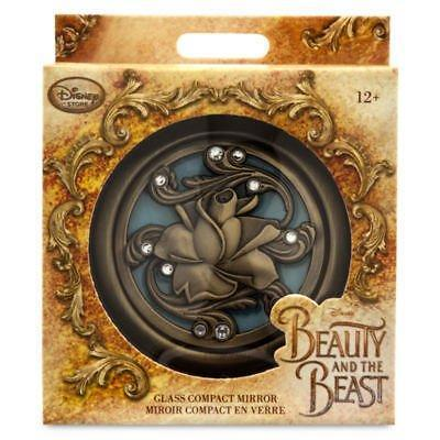 New Official Disney Beauty & The Beast Childrens Compact Mirror