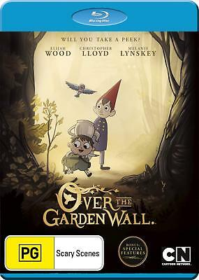 OVER THE GARDEN WALL (animated)  -  Blu Ray - Sealed Region B  for UK