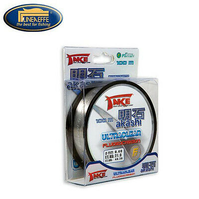 NYLON DE PECHE TAKE AKASHI ULTRACLEAR FLUOROCARBON 100 M Modèle: 0.18mm