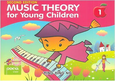 Poco Music Theory for Young Children Book 1 YING YING NG POCO STUDIO PS3509 NEW