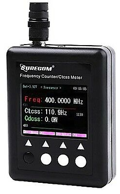 Surecom SF401 PLUS Portable Frequency Counter with CTCCSS/CDCS