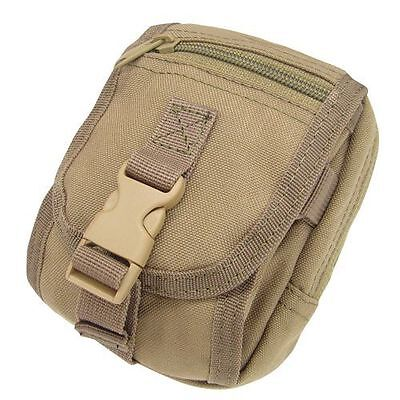 CONDOR MA26-003 Tactical MOLLE Accessory Tool Phone Gadget Pouch Coyote Tan