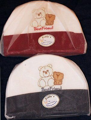 Newborn Boy Girl Baby Hat and 1 Pairs Scratch Mittens & 1pairs shoes100% Cotton