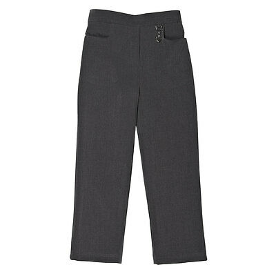 Zeco School Uniform Girls Two Pocket Lycra Stretch Fabric Trouser 2-16yrs(GB3039