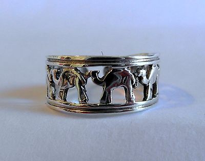 Sterling Silver (925) Adjustable  Camels  Toe Ring  !!   Brand  New !!