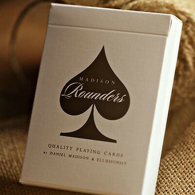 Mazzo di carte Bicycle Rounders playing cards by Madison - Brown
