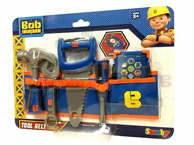 BOB THE BUILDER TOOL BELT - 6 accessories pack (Includes Bob's Smartphone) SMOBY