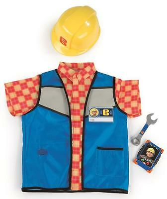 BOB THE BUILDER -BOB'S SAFETY SET-5 Accessories Pack-Mobile Tools Costume SMOBY