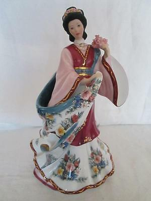 "Franklin Mint  for The Danbury Mint ""The Plum Blossom Princess"" by Lena Lui Mint"