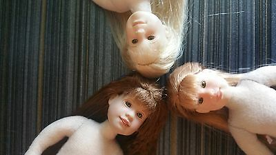 Only Hearts Club Dolls (lot of 3 nude dolls) ~ lot #G1