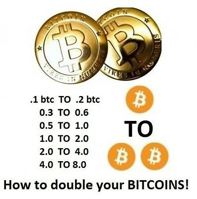 BTC - Double your bitcoins in just 90 days. Automated, Don't have to do anything