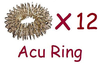 Acupressure circulation ring - increase blood flow massage - Acu Ring x 12