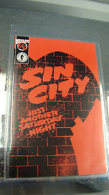Sin City #1/2 (Wizard) Frank Miller Just Another Saturday Night