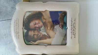 "Lenox Opal Innocence ""Love is Patient"" Picture Frame"