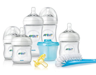 Philips Avent BPA Free Natural Infant Starter Gift Set, New, Free Shipping.