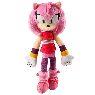 Sonic Boom Small Plush Amy, New, Free Shipping.