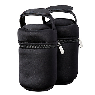 Tommee Tippee Insulated Bottle Bag, 2Count, New, Free Shipping.