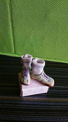 OHC - Pink  and Blue sneakers/Tennis shoes/with socks  / Fit Momoko, Blythe