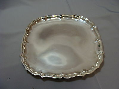 """Vintage Sterling Silver Frank Smith Chippendale Sterling 10.5""""  Tray 480 grams"""