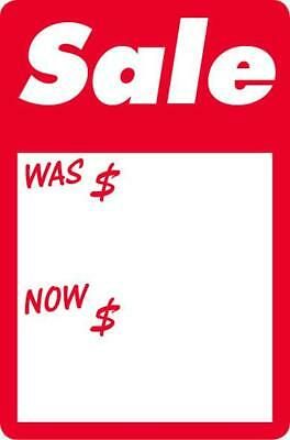 NEW #2509 - Sale - Was/Now Work Labels / Stickers