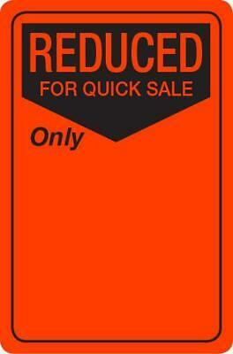 NEW #2503 - Reduced for Quick Sale Work Labels / Stickers