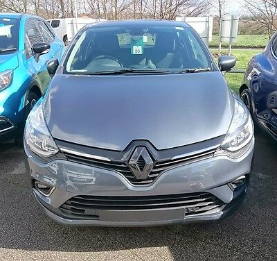 Renault Clio 4 2017 (Facelift) WITH REAR CAMERA, gloss BLACK BADGE COVER (SET)
