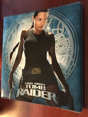 INKWORKS 2001 LARA CROFT TOMB RAIDER Binder +CARD SET FOILS PREVIEWS