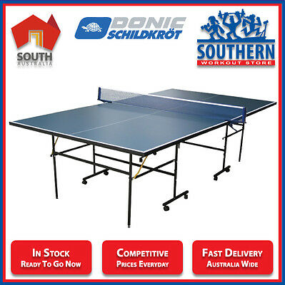 Donic Table Tennis Tourstar 100 Indoor Ping Pong Table Sport Family Games