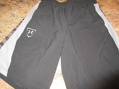 Under Armour Boys Youth Shorts...NEW...Youth large