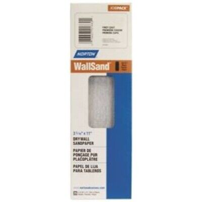 Norton 03253 Wallsand 80D Grit Die-Cut Drywall Screen Sanding Sheet, 4-3/16-Inch