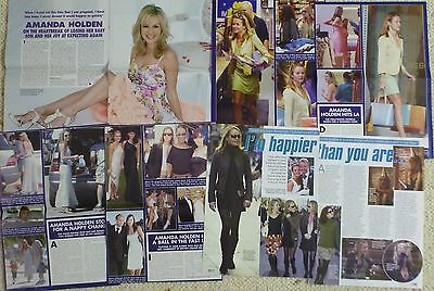 AMANDA HOLDEN x 105 ** SEXY ** CLIPPINGS PACK # 1